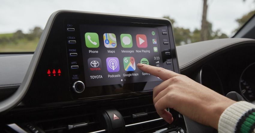 Toyota introduces Apple CarPlay, Android Auto in OZ – selected existing models retrofittable for RM573 only Image #1038061