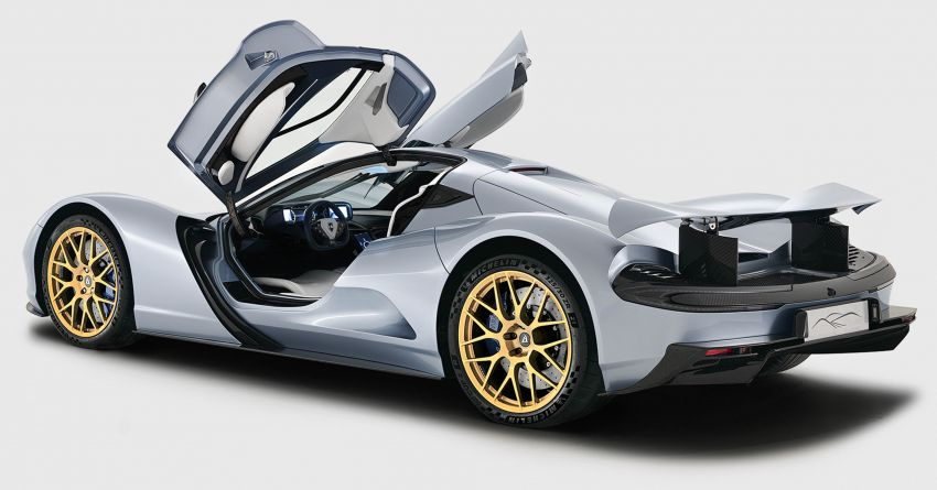 Aspark Owl – world's fastest accelerating car debuts; 0-96 km/h in 1.69 seconds; 2,102 PS and 2,000 Nm Image #1046613