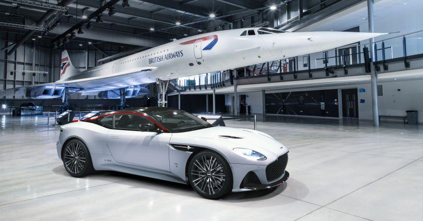 Aston Martin DBS Superleggera Concorde Edition celebrates 50th anniversary of supersonic air travel Image #1051578