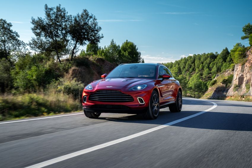 Aston Martin DBX SUV revealed –4.0L twin-turbo V8 with 550 PS, 700 Nm, 9-speed auto, AWD, from RM798k Image #1048121