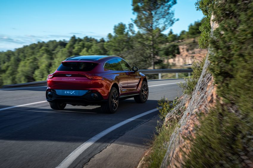 Aston Martin DBX SUV revealed –4.0L twin-turbo V8 with 550 PS, 700 Nm, 9-speed auto, AWD, from RM798k Image #1048122