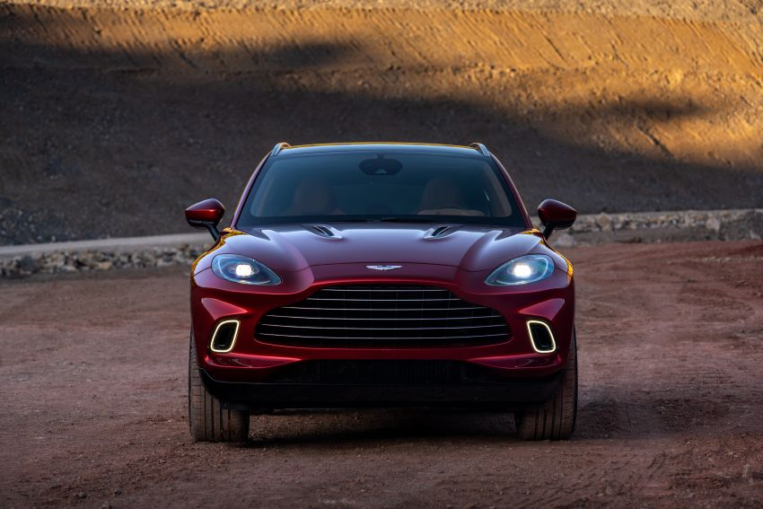 Aston Martin DBX SUV revealed – 4.0L twin-turbo V8 with 550 PS, 700 Nm, 9-speed auto, AWD, from RM798k Image #1048124