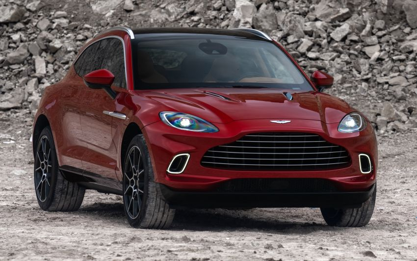 Aston Martin DBX SUV revealed –4.0L twin-turbo V8 with 550 PS, 700 Nm, 9-speed auto, AWD, from RM798k Image #1048125