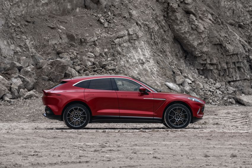 Aston Martin DBX SUV revealed –4.0L twin-turbo V8 with 550 PS, 700 Nm, 9-speed auto, AWD, from RM798k Image #1048126
