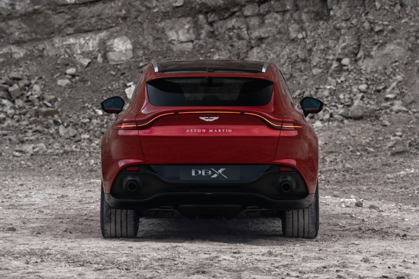 Aston Martin DBX SUV revealed –4.0L twin-turbo V8 with 550 PS, 700 Nm, 9-speed auto, AWD, from RM798k Image #1048127