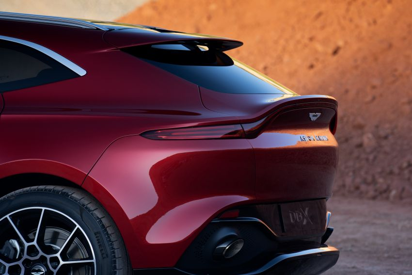 Aston Martin DBX SUV revealed – 4.0L twin-turbo V8 with 550 PS, 700 Nm, 9-speed auto, AWD, from RM798k Image #1048129