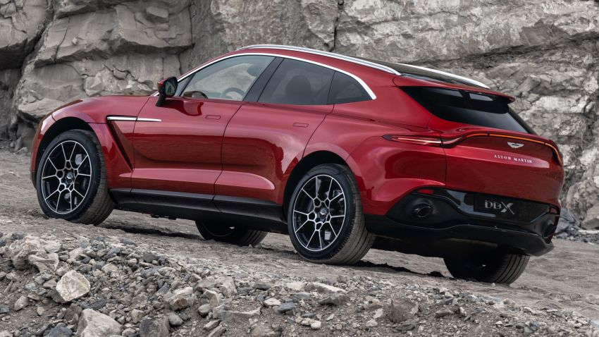 Aston Martin DBX SUV revealed –4.0L twin-turbo V8 with 550 PS, 700 Nm, 9-speed auto, AWD, from RM798k Image #1048134