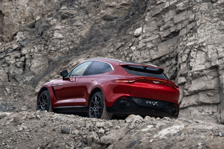 Aston Martin DBX SUV revealed –4.0L twin-turbo V8 with 550 PS, 700 Nm, 9-speed auto, AWD, from RM798k Image #1048135