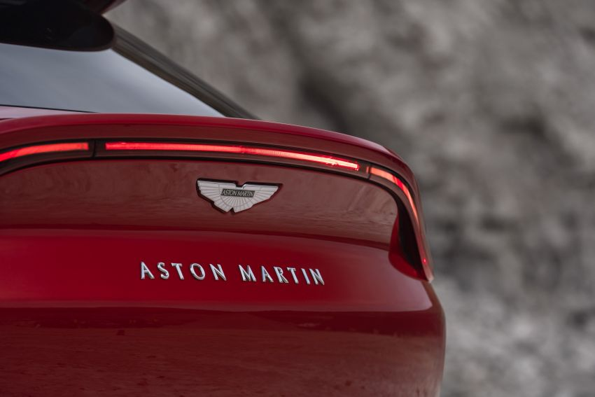 Aston Martin DBX SUV revealed –4.0L twin-turbo V8 with 550 PS, 700 Nm, 9-speed auto, AWD, from RM798k Image #1048136