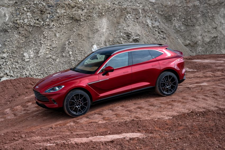 Aston Martin DBX SUV revealed – 4.0L twin-turbo V8 with 550 PS, 700 Nm, 9-speed auto, AWD, from RM798k Image #1048137