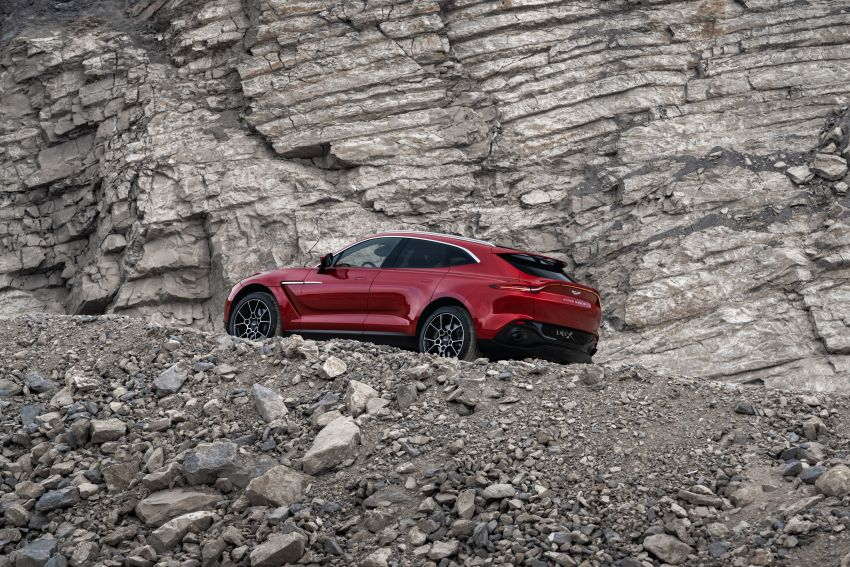 Aston Martin DBX SUV revealed –4.0L twin-turbo V8 with 550 PS, 700 Nm, 9-speed auto, AWD, from RM798k Image #1048138