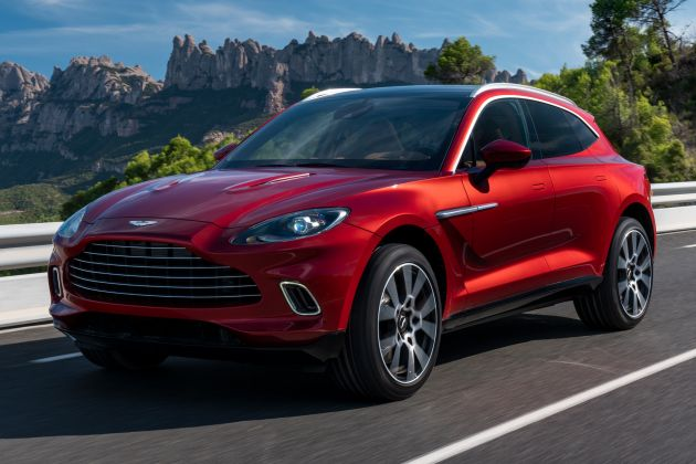 Aston Martin Dbx Suv Revealed 4 0l Twin Turbo V8 With 550 Ps 700 Nm 9 Speed Auto Awd From Rm798k Paultan Org