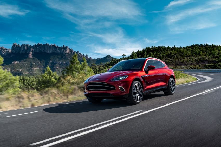 Aston Martin DBX SUV revealed –4.0L twin-turbo V8 with 550 PS, 700 Nm, 9-speed auto, AWD, from RM798k Image #1048140