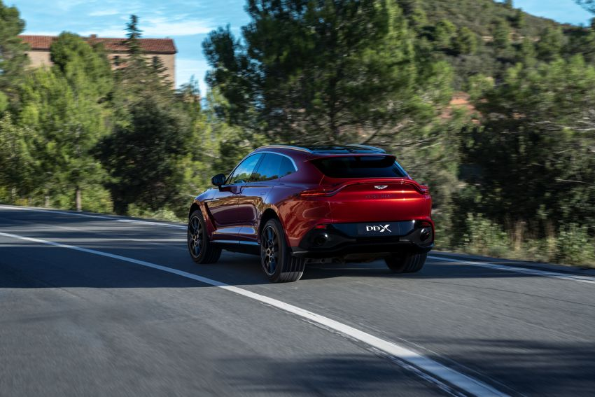 Aston Martin DBX SUV revealed –4.0L twin-turbo V8 with 550 PS, 700 Nm, 9-speed auto, AWD, from RM798k Image #1048141
