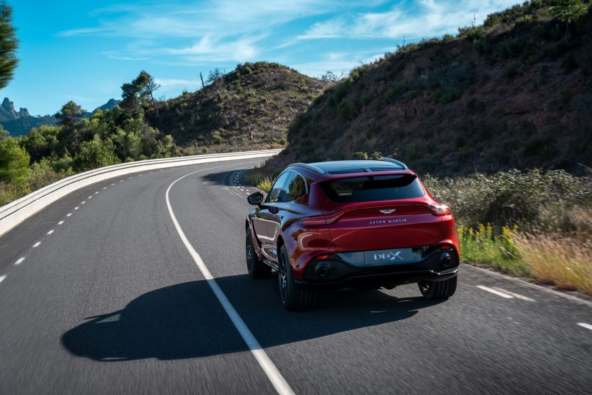Aston Martin DBX SUV revealed – 4.0L twin-turbo V8 with 550 PS, 700 Nm, 9-speed auto, AWD, from RM798k Image #1048142
