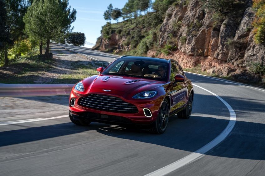 Aston Martin DBX SUV revealed –4.0L twin-turbo V8 with 550 PS, 700 Nm, 9-speed auto, AWD, from RM798k Image #1048143