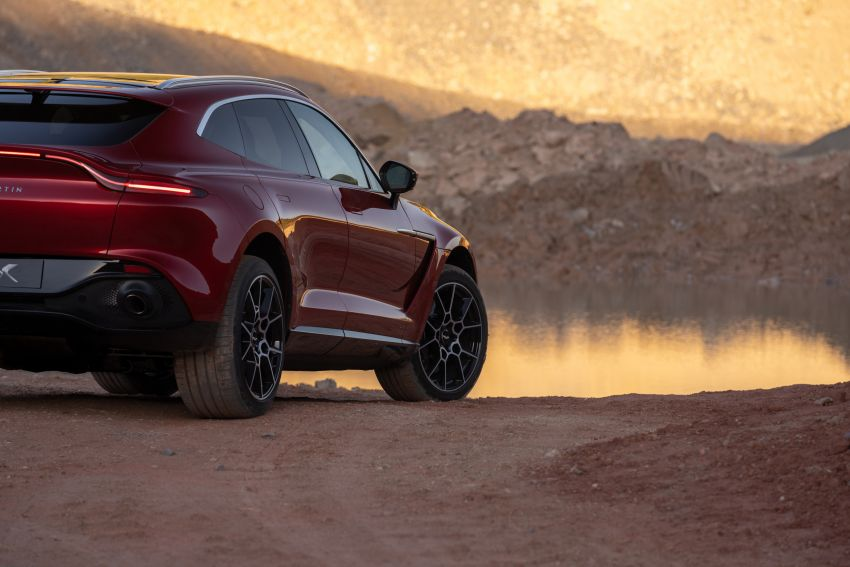 Aston Martin DBX SUV revealed –4.0L twin-turbo V8 with 550 PS, 700 Nm, 9-speed auto, AWD, from RM798k Image #1048144