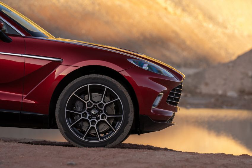 Aston Martin DBX SUV revealed –4.0L twin-turbo V8 with 550 PS, 700 Nm, 9-speed auto, AWD, from RM798k Image #1048145