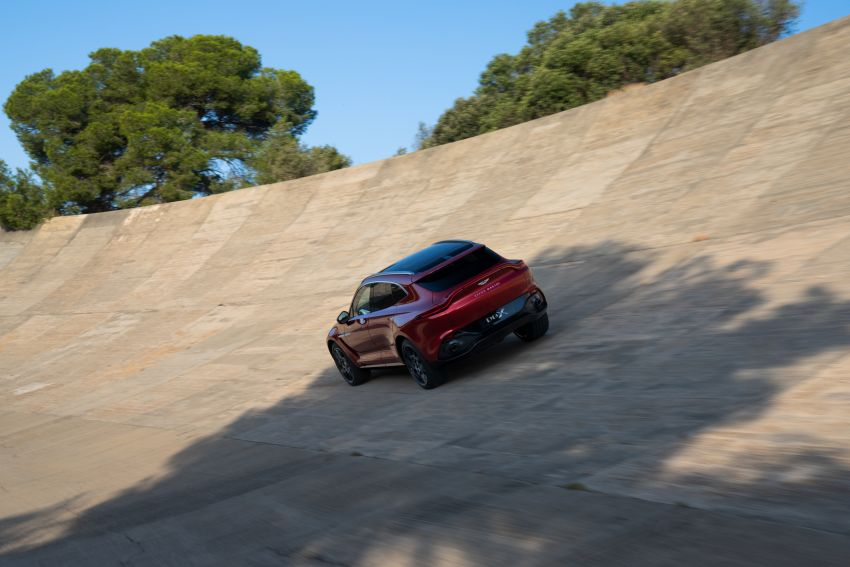 Aston Martin DBX SUV revealed –4.0L twin-turbo V8 with 550 PS, 700 Nm, 9-speed auto, AWD, from RM798k Image #1048146