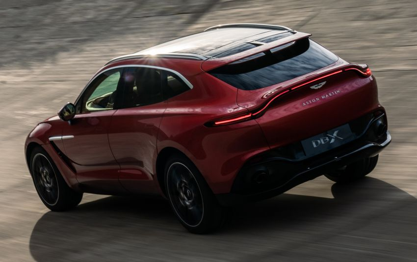 Aston Martin DBX SUV revealed –4.0L twin-turbo V8 with 550 PS, 700 Nm, 9-speed auto, AWD, from RM798k Image #1048147