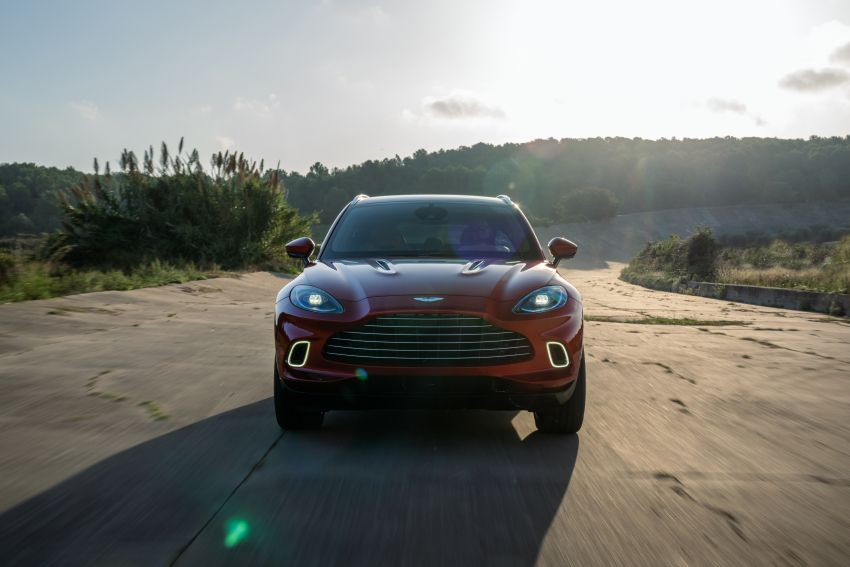 Aston Martin DBX SUV revealed – 4.0L twin-turbo V8 with 550 PS, 700 Nm, 9-speed auto, AWD, from RM798k Image #1048148