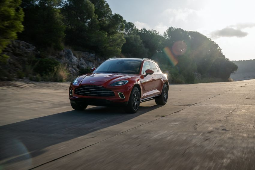 Aston Martin DBX SUV revealed –4.0L twin-turbo V8 with 550 PS, 700 Nm, 9-speed auto, AWD, from RM798k Image #1048149