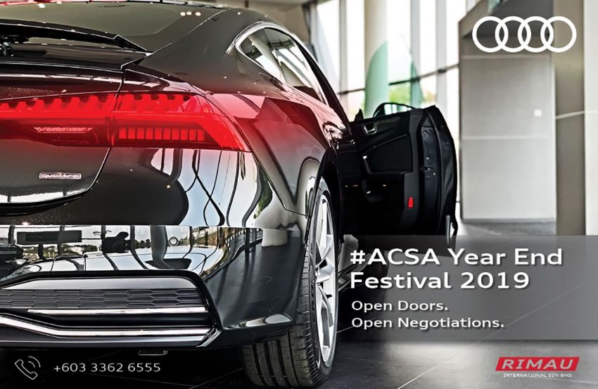 AD: Audi Centre Setia Alam Year End Festival on Nov 16-17 – rebates up to RM30k, 5 years free maintenance Image #1044317