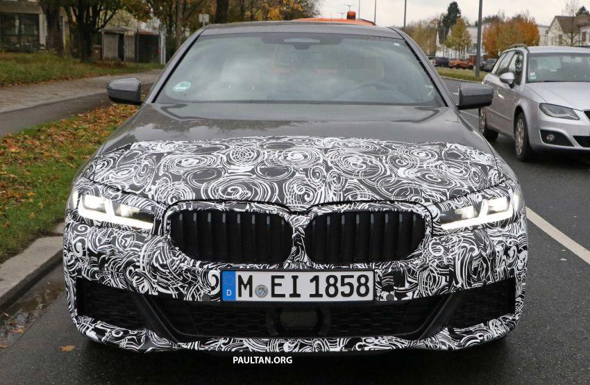 SPYSHOTS: G30 BMW 5 Series LCI with M Sport kit Image #1048204