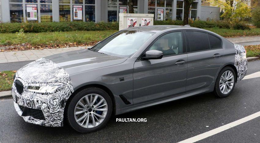 SPYSHOTS: G30 BMW 5 Series LCI with M Sport kit Image #1048207