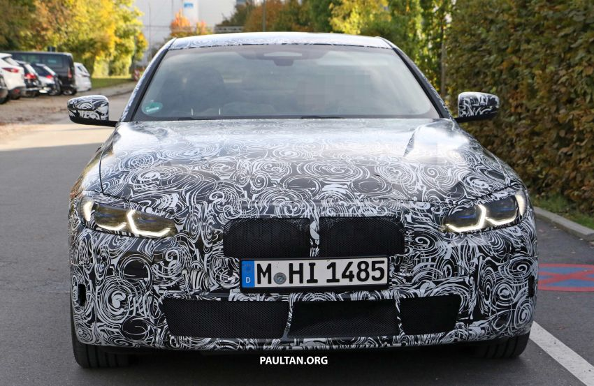 SPIED: G23 BMW 4 Series sighted again, with interior Image #1045073