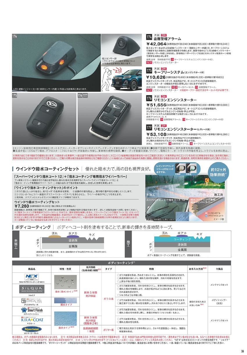 Daihatsu Rocky – official range of accessories out Image #1042655