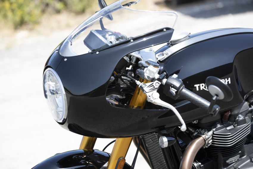 EICMA 2019: 2020 Triumph Thruxton RS – 105 hp Image #1043649