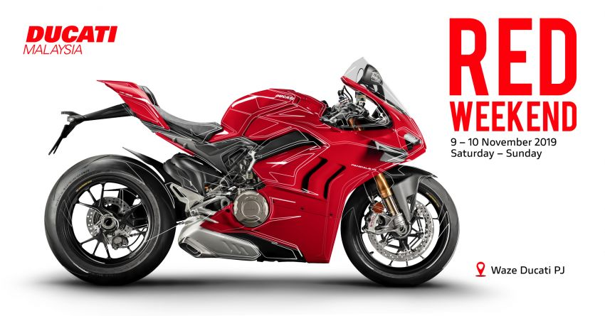 AD: Ducati Red Weekend at Naza Automall, November 9-10 – discounted apparel, up to RM20k in rebates! Image #1042683