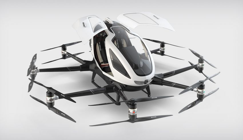 Malaysia's first flying car is Chinese-made EHang 216 – EastCap Berhad's drone takes flight this Thursday Image #1047454