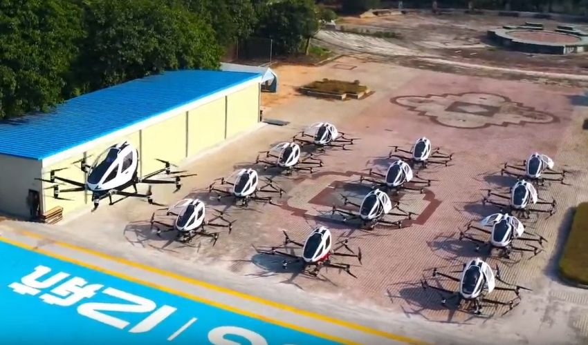 Malaysia's first flying car is Chinese-made EHang 216 – EastCap Berhad's drone takes flight this Thursday Image #1047611