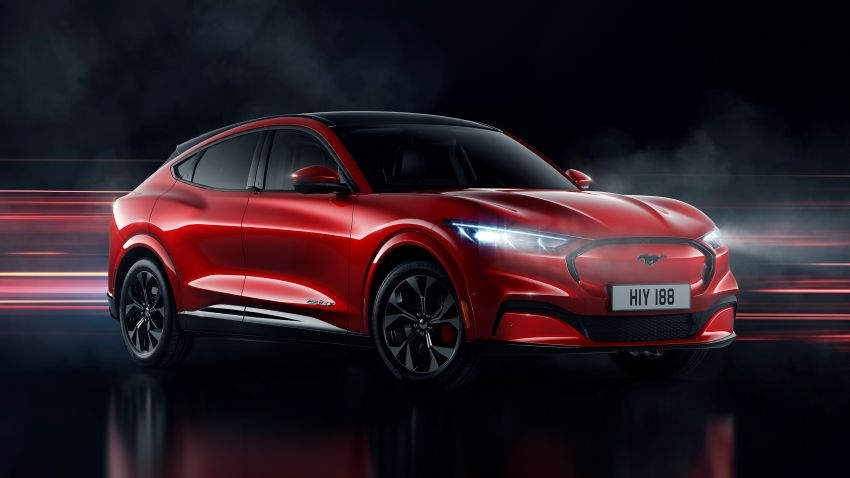 Ford Mustang Mach-E revealed – electric SUV with up to 439 hp, 839 Nm, 0-100 km/h 3.5 secs, 600 km range Image #1046848