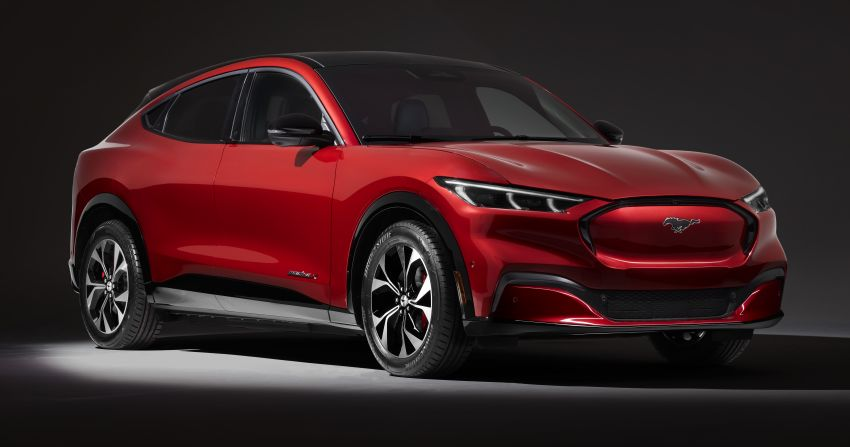 Ford Mustang Mach-E revealed – electric SUV with up to 439 hp, 839 Nm, 0-100 km/h 3.5 secs, 600 km range Image #1046845