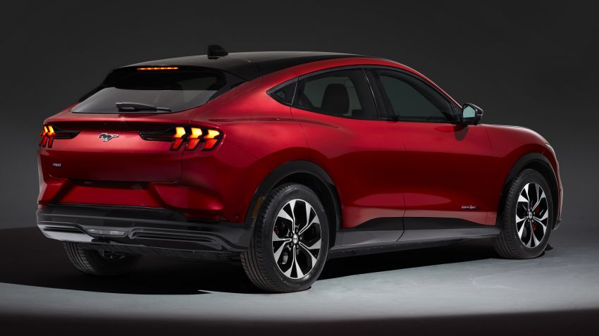 Ford Mustang Mach-E revealed – electric SUV with up to 439 hp, 839 Nm, 0-100 km/h 3.5 secs, 600 km range Image #1046846
