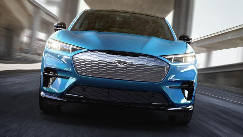 Ford Mustang Mach-E revealed – electric SUV with up to 439 hp, 839 Nm, 0-100 km/h 3.5 secs, 600 km range Image #1046809