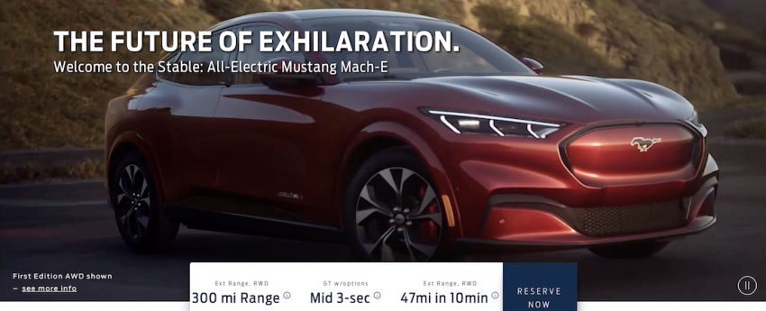 Ford Mustang Mach-E details leaked ahead of launch – from RM182k, up to 480 km range, 0-96 km/h under 4 s Image #1046522