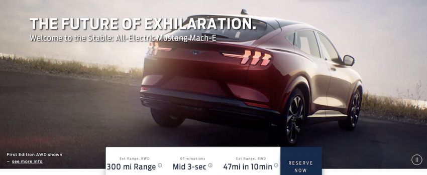 Ford Mustang Mach-E details leaked ahead of launch – from RM182k, up to 480 km range, 0-96 km/h under 4 s Image #1046524