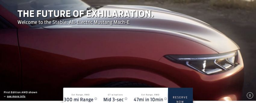 Ford Mustang Mach-E details leaked ahead of launch – from RM182k, up to 480 km range, 0-96 km/h under 4 s Image #1046525