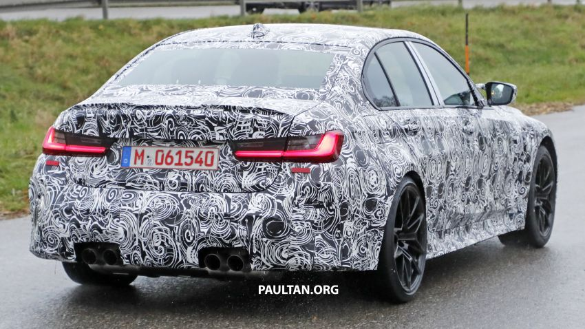 SPIED: G80 BMW M3 shows skin, hides massive grille Image #1046646