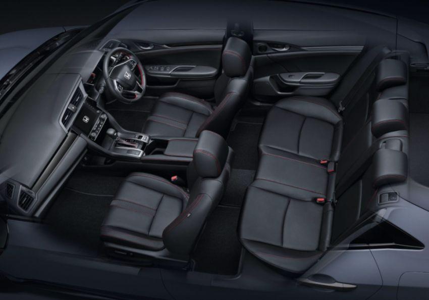 Honda Civic hatchback facelift – sole 1.5 RS variant, Honda Sensing safety suite, RM168k in Thailand Image #1045300