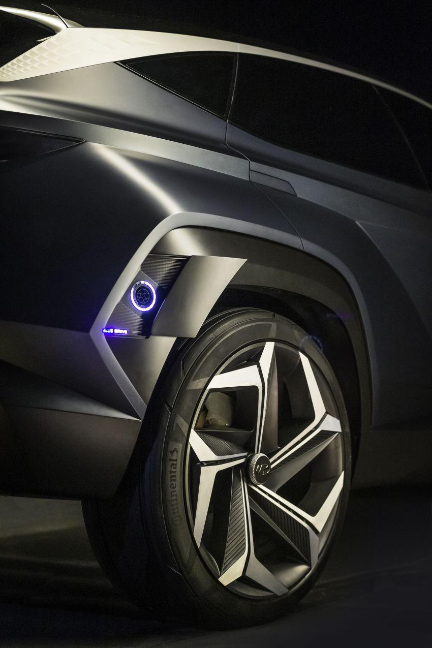 Hyundai Vision T revealed, previews next-gen Tucson Image #1049087