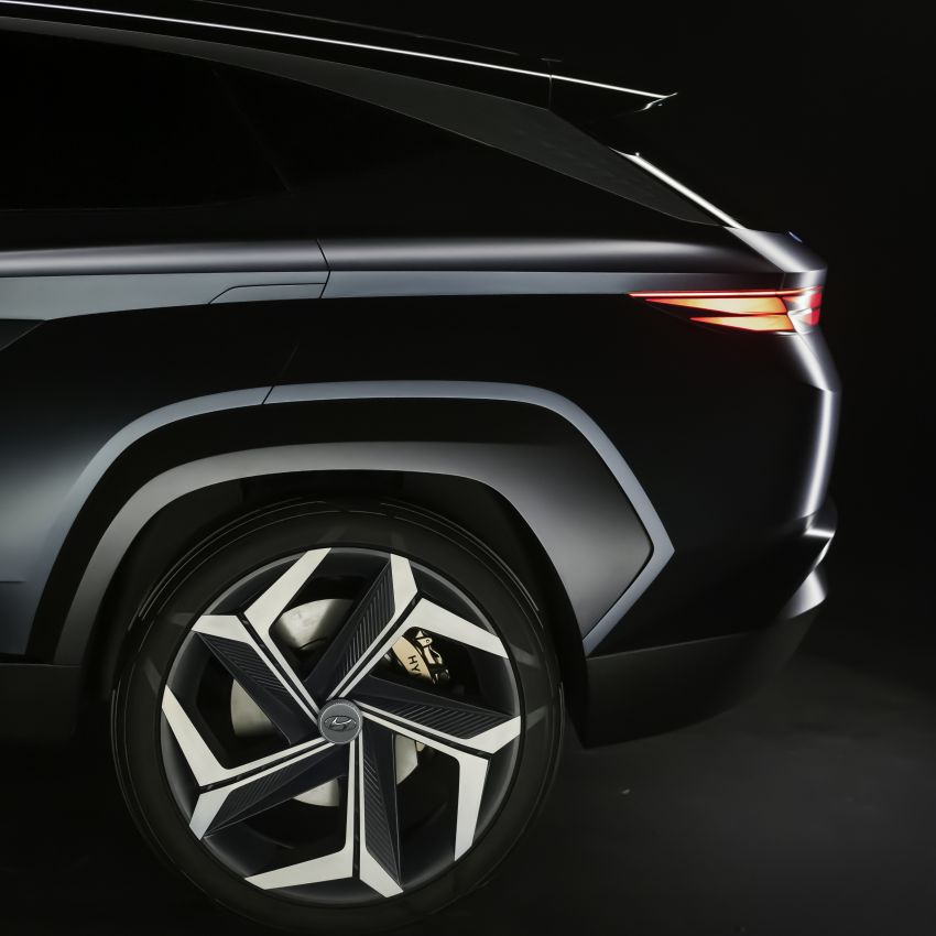 Hyundai Vision T revealed, previews next-gen Tucson Image #1049093