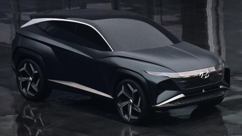 Hyundai Vision T revealed, previews next-gen Tucson Image #1048706