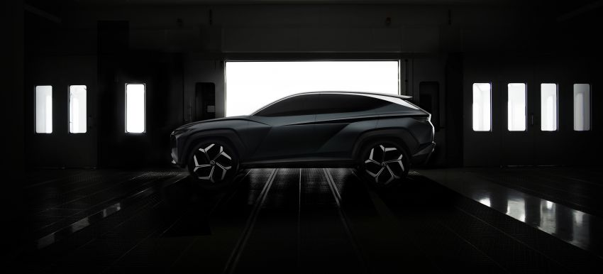 Hyundai Vision T revealed, previews next-gen Tucson Image #1048708