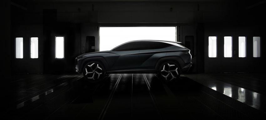 Hyundai Vision T revealed, previews next-gen Tucson Image #1048708