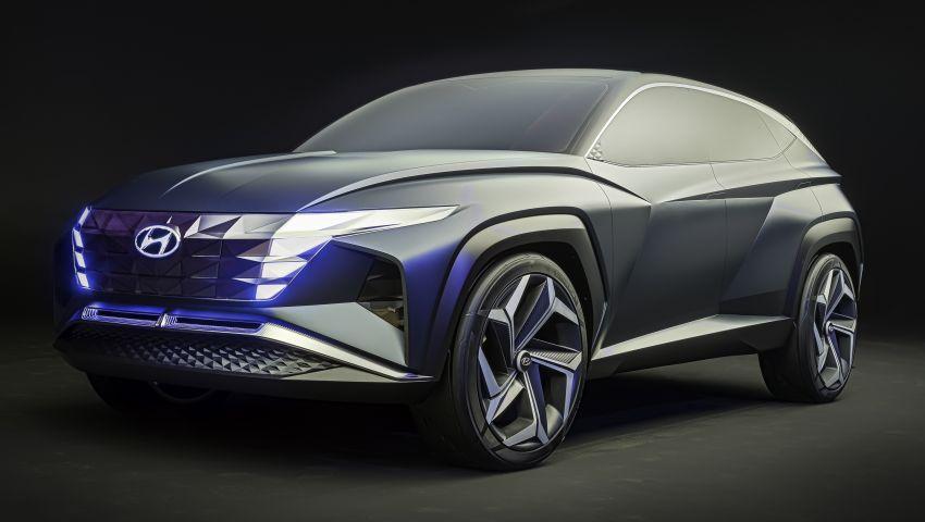 Hyundai Vision T revealed, previews next-gen Tucson Image #1049104